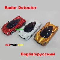 Car Detector New 2014 Anti Radar Detector Russian/English Voice Car Alarm 360 Degrees Vehicle Speed Control Radar Detect
