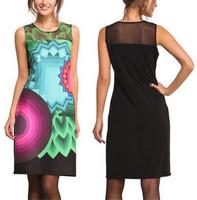summer dress 2014 Vestidos Bandage Bodycon Dress Women Dress Casual Dresses Club Party vestido de festa S M L Drop Ship M3-85