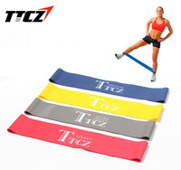 4pcs Resistance band LOOP Circumference 50CM Light/Med/Heavy/Extra Heavy exercise pilates yoga Fitness Bands tubing Workout