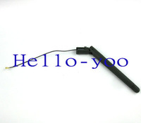 Free shipping 1 pc  2.4Ghz wifi Antenna 2.4g ipx u.fl Connector 2-3dbi Gains Aerial for wireless router/wireless LANs