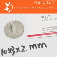 Super Strong Neodymium magnets N35, 10X3X2mm 100 PCS , block magnets  Super Powerful Strong Neodymium Magnet