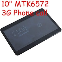 MTK6572 Android 4.2 3G Tablet 10 inch WCDMA 3G Phone Call Tablet PC Dual Core GPS Bluetooth Dual Camera Tablets with  Dual SIM