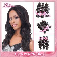 malaysian virgin human hair weave bundles loose wave 3pcs 4pcs,Lavera wig virgin hair weft extension