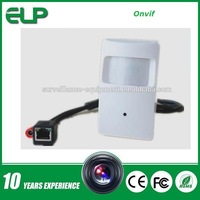 720p 1.0 megapixel H.264 onvif mini hidden security camera  ELP-IP3110HR