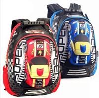 2014 New children backpacks Transformer Orthopedic Cartoon bags mochilas school kids school bags mochila infantil 3D freeshiping
