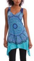 2014 Summer women clothing Desigual  t shirt Print  t shirt casual novelty ladies women blouse fashion tops for women DG035