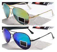 19 Colors High Quality 2014 New Fashion Brand Retro Designer Sunglasses Men women Vintage Glasses Gafas Oculos De Sol masculino