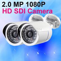 Security Bullet Camera Full HD SDI 1080P Megapixel WDR 36pcs IR LEDS nigh vision Indoor Outdoor CCTV Camera