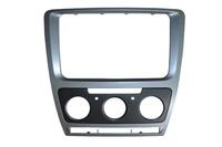 Car Refitting DVD frame,DVD panel,Dash Kit,Fascia,Audio frame for Skoda Octavia 2013, 2DIN HK POST Free Shipping