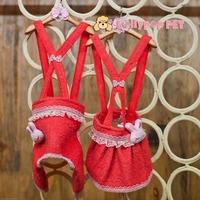 New models! Lollipop cute bunny rabbit strap dress strap pet clothing  free shipping