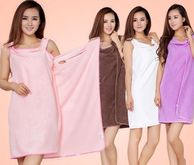 Free shipping! Good selling quality magic super-absorbent towels, bath beautiful ladies fashion slim skirt 5 color optional(China (Mainland))