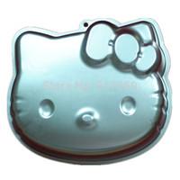 1PCS Aluminum Bakeware Cake Mold  Hello Kitty Shape Cake Baking Pan  Cake Tools Kitchen Accesories