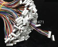 Mini. Micro  1.25 T-1 10-Pin Connector w/.Wire x 10 sets