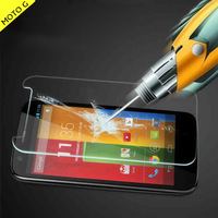 0.4mm plane Genuine Tempered Glass Film for google Motorola Moto G XT1032 Free Shipping with original package screen protector