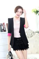 Blazer Women 2014 Spring And Autumn New Blazers Wild Solid Color Suit Jacket  DJ-21