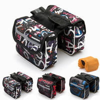 Outdoor Bike bag pipe bag saddle bag-in-one package before the beam dropping shipping