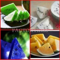 Free Shipping 20Pcs Rare Watermelon Fruit Seeds Blue White Green Orange Purple Yellow Red 4 4013-179