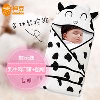 Baby summer newborn holds 100% cotton thin autumn and winter newborn baby parisarc blankets sleeping bag dual
