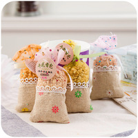 5 Pieces/Lot 10.5cm*5cm 20g Home Decor Incense Natural Dried Flowers Fruit Bag Wardrobe Sachet Mouldproof Mothproof