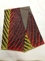 Hollandias Textile African Real Wax Fabric For Daily Dress