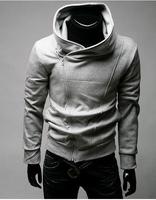 2014 Fashion custom sublimation zipper hoodies hooded causual men clothing sweatshirts free shipping