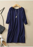 2014 autumn women's brief formal cloth all-match one-piece dress