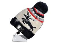 Thicken Winter Skullies Hop Brand Designer Fashion Deer Toucas de inverno Gorro Warm Beanie Causal Hats Men Women Free Shipping