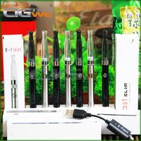2Lady Electronic Cigarette eluv kit &eluv ecig smoking pen e cigarette slim with mini ce4 atomizer ecig eluv