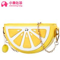 Circleof bag lemon pendant chain small mini cross-body bag one shoulder cross-body macaron bags x1617