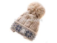 High Quality Thicken Winter Skullies with Pom Brand Designer Fashion Hats Female Toucas de inverno Gorro Warm Beanie Men Women