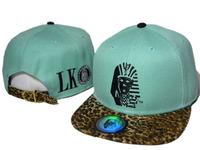 New Hot green leopard Last Kings Snapback hats caps top quality  mens womens classic adjustable sports cap freeshipping !