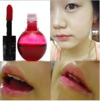1PC Waterproof Tonymoly mini magic cherry pink lip tint stain lip gloss nature and long lasting wholesale lipstick Free Shipping