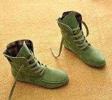 2014 autunno e in inverno stivali stivali da neve per le donne e uomini martin stivali in vera pelle stivali coppia scarpe cotone di trasporto libero(China (Mainland))
