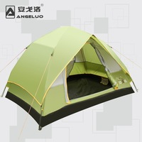 windproof four season double layer automatic camping tent 2 person