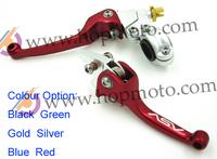 ASV clutch and brake folding aluminum lever for dirt bike/pit bike spare parts