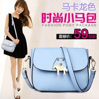 2014 bag cross women's handbag female shoulder bag cross-body bags small macaron bags
