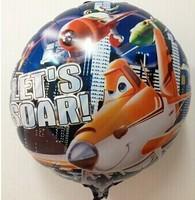 Free Shipping 18 inches Planes Foil Balloons,50 pcs/Lot helium balloon,cartoon design balloon