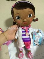 Free shipping Original Doc McStuffins toys doll plush big Dottie doll 55cm stuffed plush doll soft toys dolls for girls