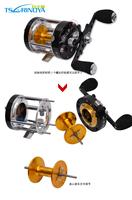 Trulinoya  Full  metal   Bait Casting Fishing Reel  TR500  7+1BB  5.2:1  312g     Right Hand