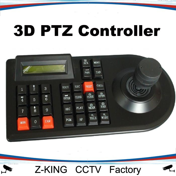 3D PTZ Controller RS485 speed dome camera keyboard CCTV Joystick(China (Mainland))