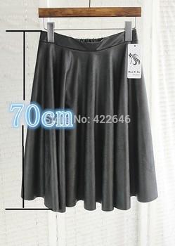 Vintage high Талия skirt pleated Бюст Кожа PU является высокотехнологичным и высокосортным ...