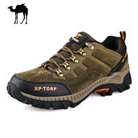 Leather Camel Shoes Outdoor Men Winter Hiking Shoes Waterproof Sport Walking Shoes For Man Zapatillas