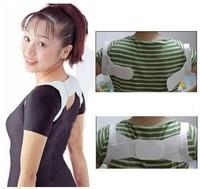 10pair/lot  Back Posture Brace Corrector Shoulder Support Band chest Belt BT1211 Freedrop shipping