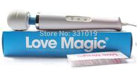 20 Speed Magic Wand Massager,AV Vibrator,Powerfull Vibration,Love Magic Sex Toy for Woman Body Massager US Plug by DHL 50pcs/lot