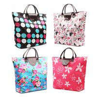 Women bag fashion shopping bag bag travel shopping bag portable shopping bag shopping bag storage bag