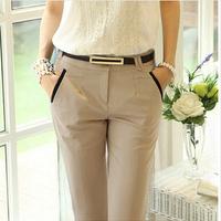 Free shipping women leggings pants slim woman's OL pencil trousers plus size  harem pants 2XL