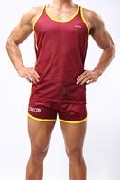 2014 Free Shipping 1set / men's  tank tops+ pants