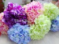 10pcs Artificial Long Stem Hydrangea Large Size Single Stem/piece Hydrangea Flowers for Wedding Flower Home Party Decoration