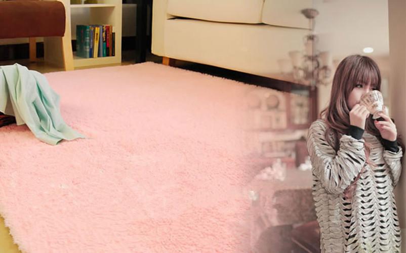 Hoogpolig Tapijt Slaapkamer : Pink Area Rugs for Dining Room