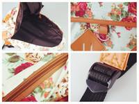 Vintage Women Girl Cute Flower Floral Bag Canvas Schoolbag Bookbag Backpack NEW